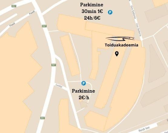 Parkimine, Toiduakadeemia